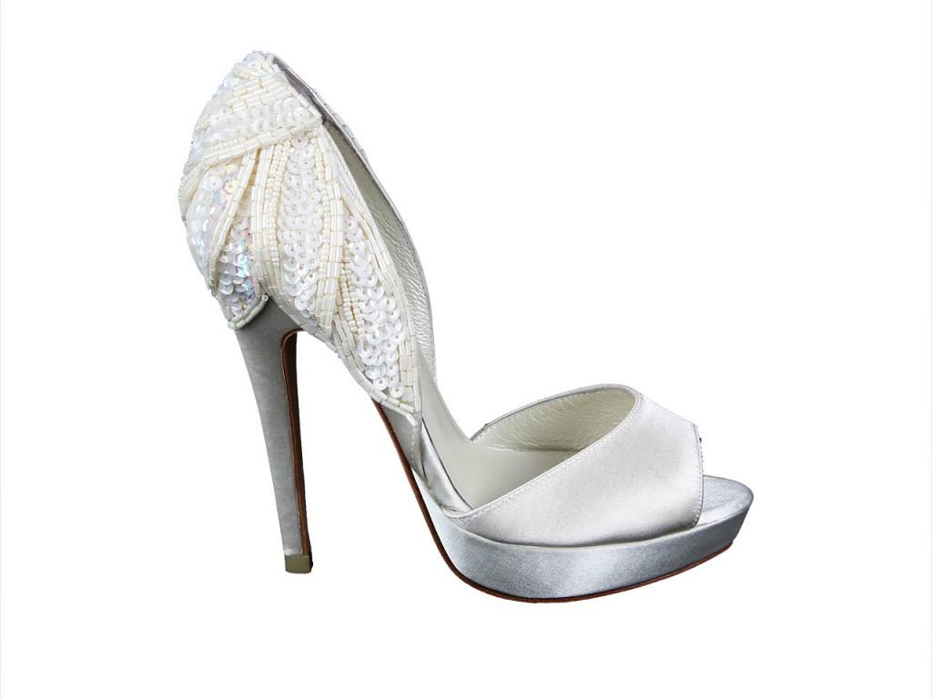 Pantofi mireasa decupati IL PASSO, 769 lei