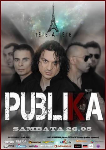 Publika live la Tete-a-tete