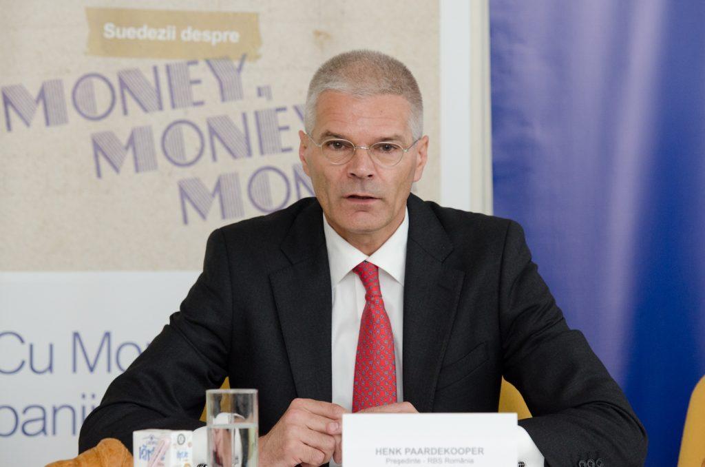 Conferinta de presa MoneySense Henk Paardekooper_Presedintele RBS Romania