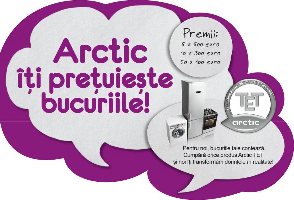 Indeplineste-ti bucuriile cu Arctic