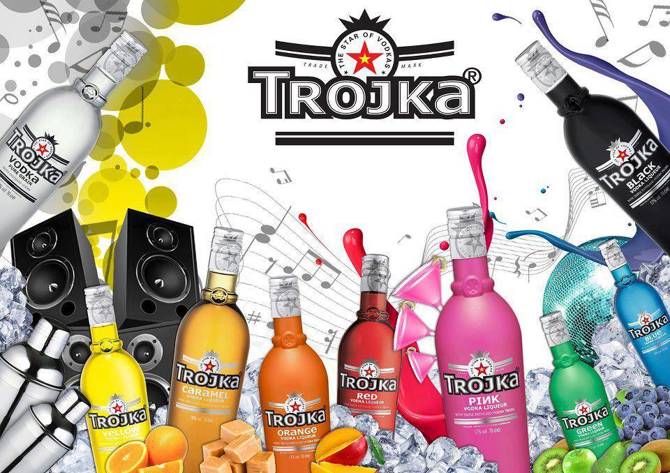 trojka vodka