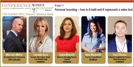 Macheta panel 2 - Conferinta Internationala Femei in Afaceri