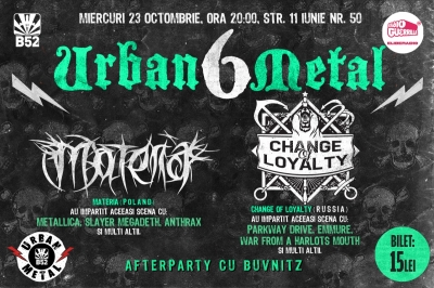 Materia si Change of Loyality la B52