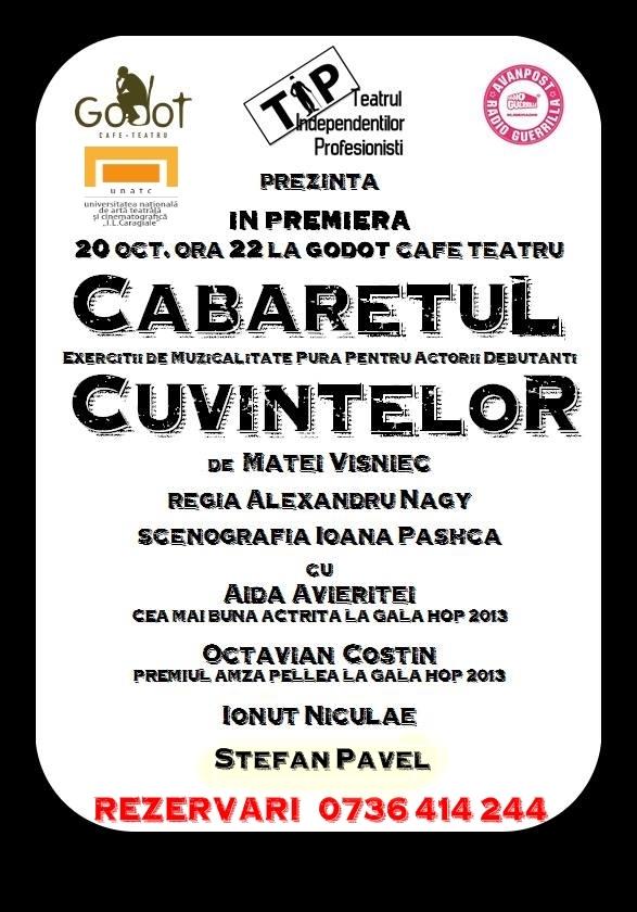 poster Cabaretul 17.10
