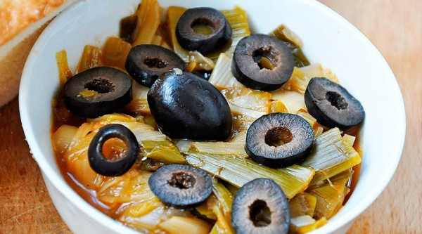 Leek-and-Black-Olives-Stew-e1380188635517