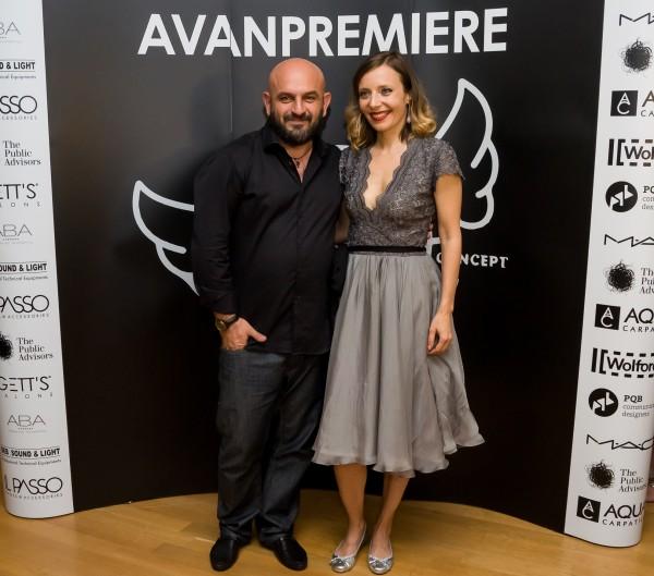 Alin Galatescu & Roxana Iliescu @Gala AVANPREMIERE 14