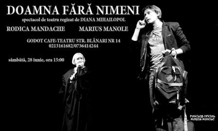 Doamna fără nimeni-foto Fanclub Oficial Marius Manole