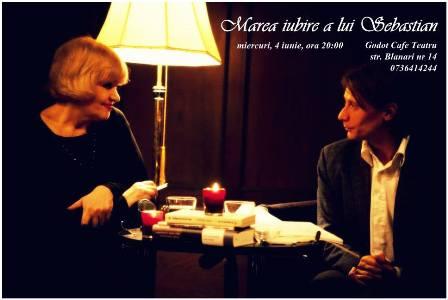 Rodica Mandache Marius Manole - Marea iubire a lui Sebastian-foto ICR Berlin