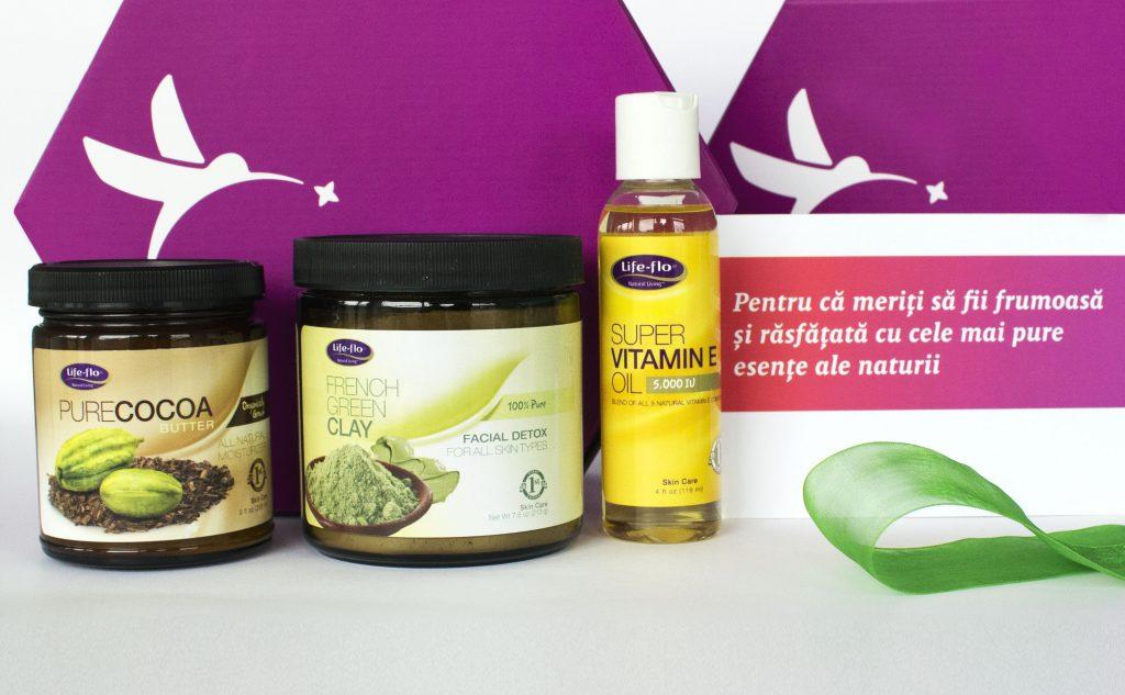 5. Cadou pentru detoxifierea și hidratarea pielii - Pure Chocolat