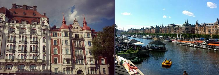 Croaziera pe canalele din Stockholm
